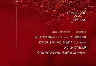 7.9广饶土拍:超400万元/亩住宅地块诞生 城东三地块4.79亿成交