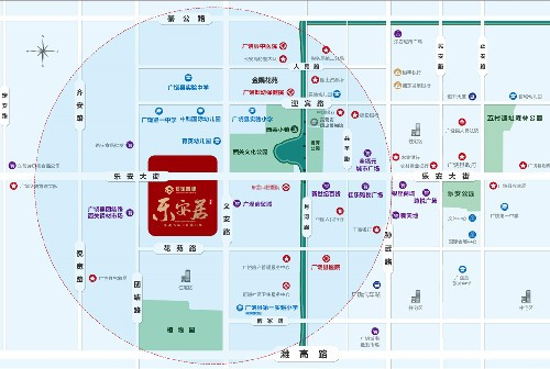 【广饶乐安居】项目区位图