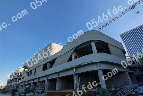 垦利明珠国际10月工程进度实景